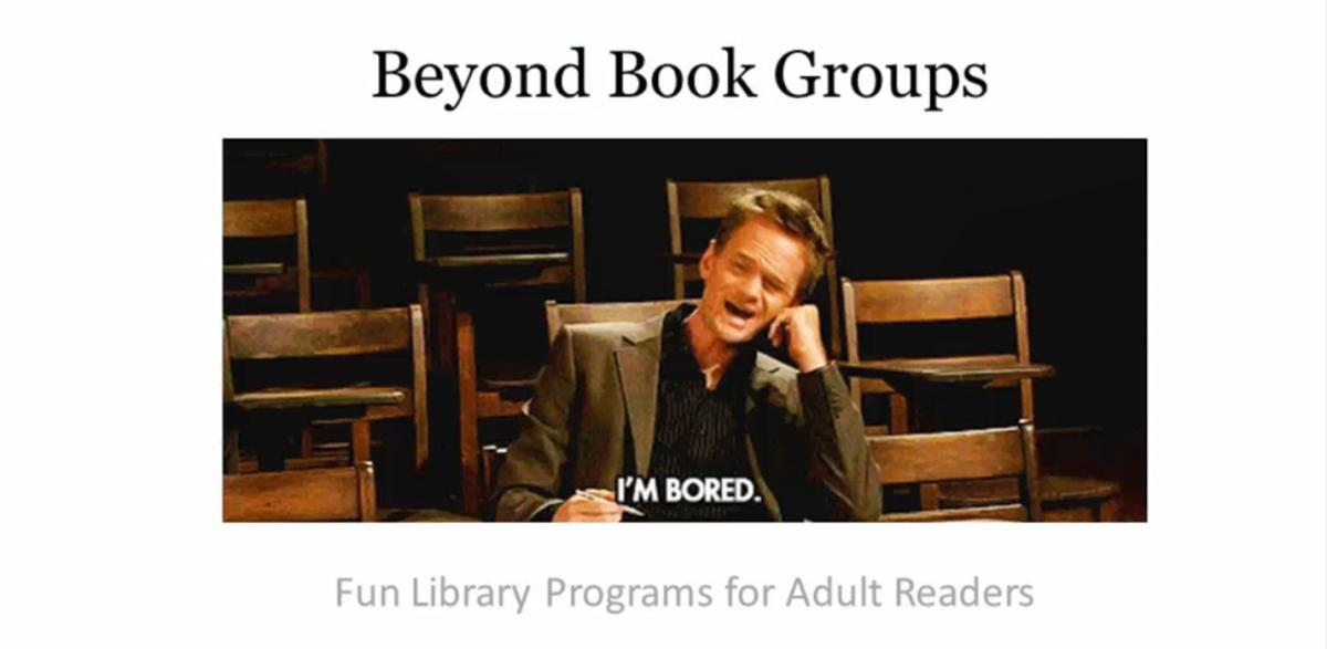 Beyond Book Groups Title Card