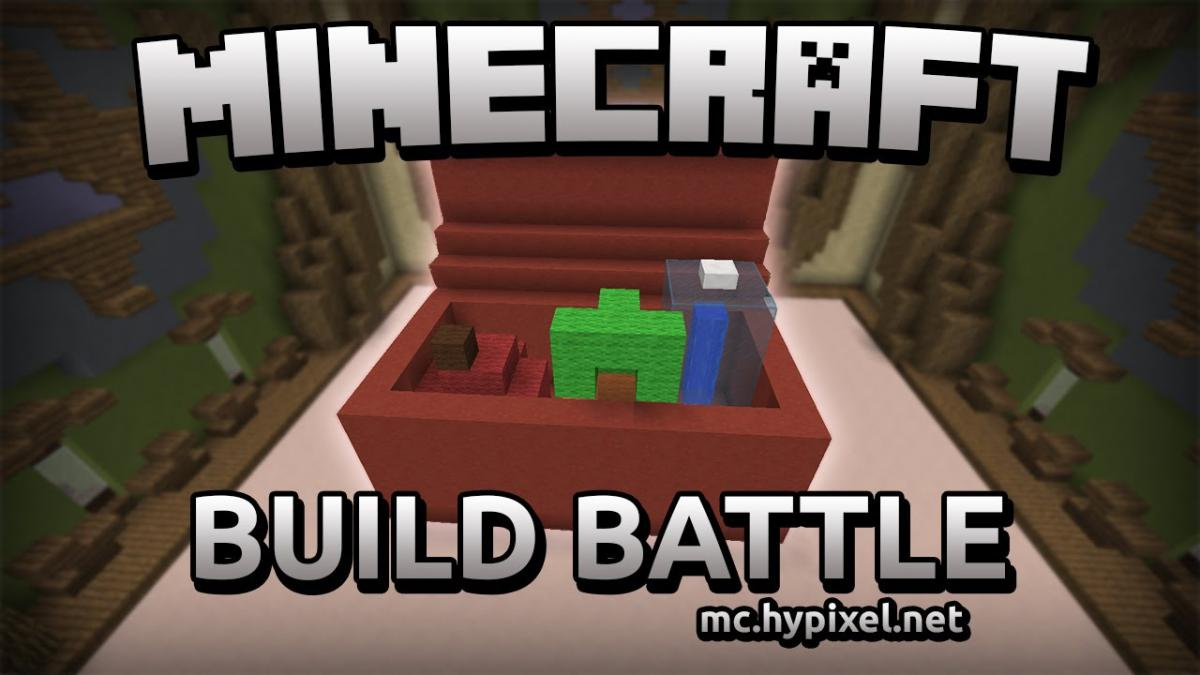 Build Battle Minecraft mini-game