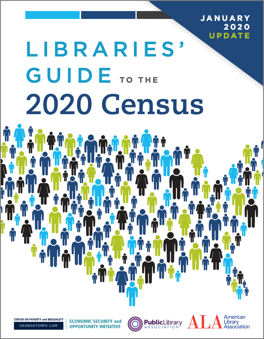 Libraries' Guide to the 2020 Census cover