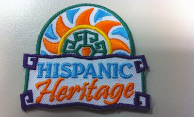 Hispanic Heritage Month scout patch