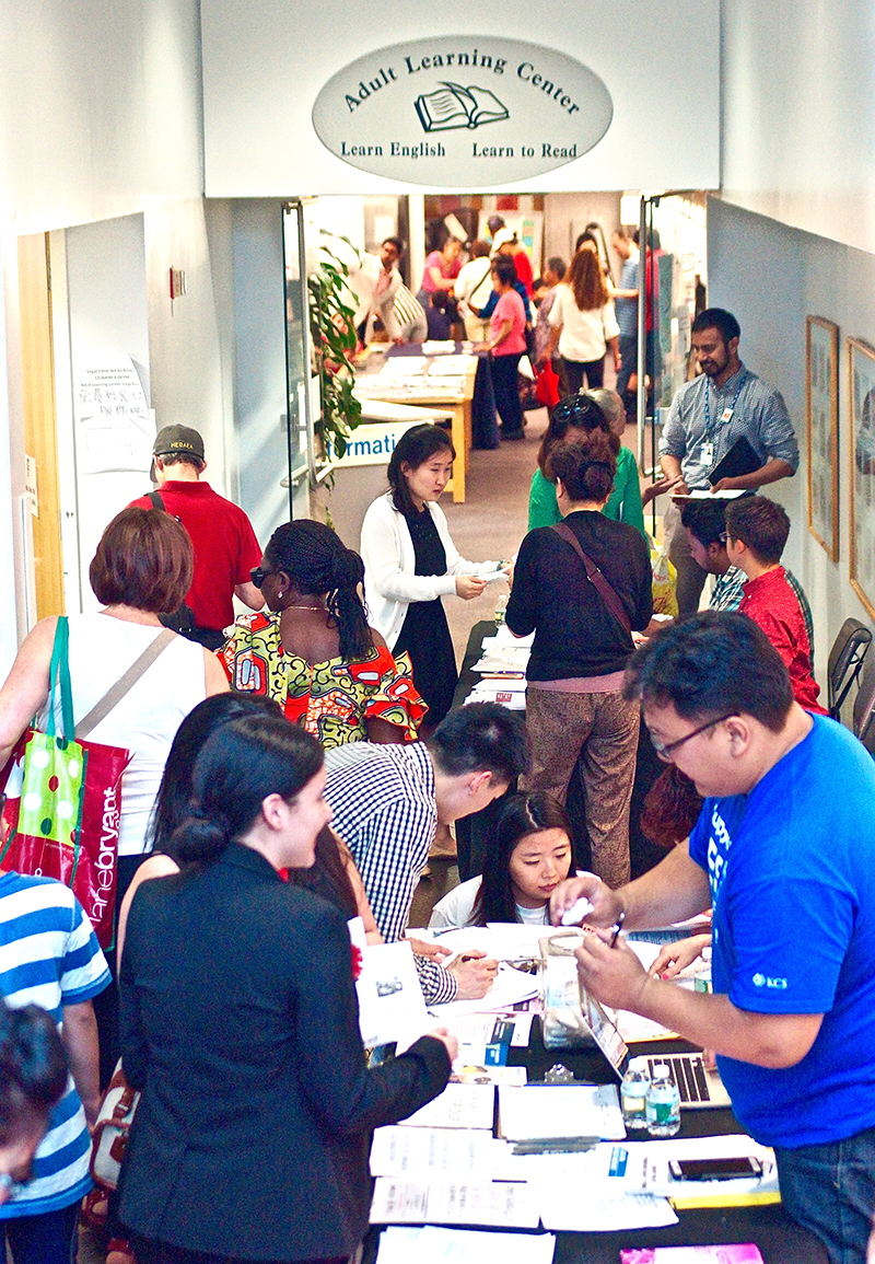 Flushing Library's annual Immigration Resource Fair