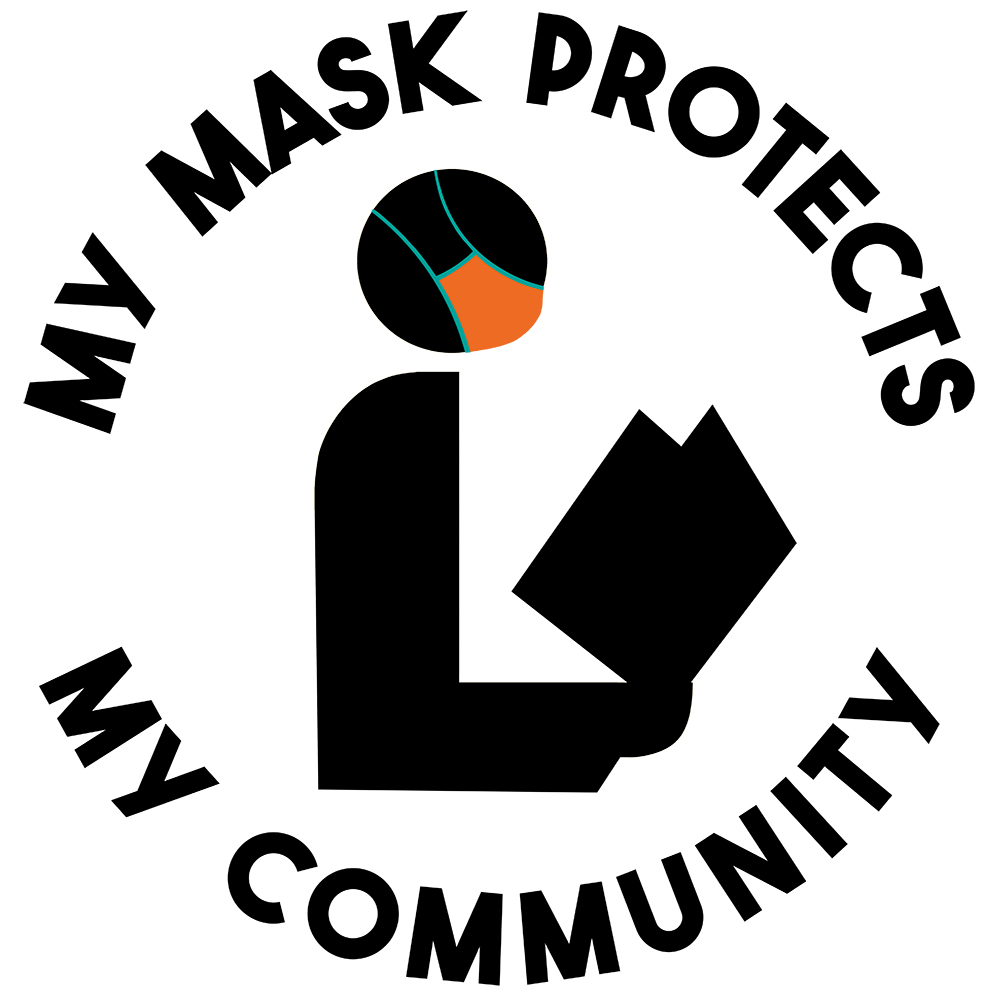 My Mask Protects My Community logo