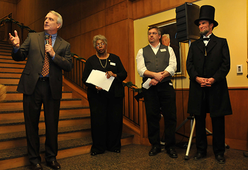 Opening reception for Lincoln and the Constitution