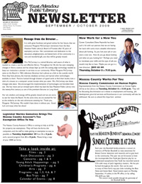 East Meadow Public Library events newsletter
