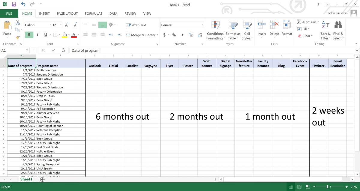 Screenshot of Microsoft Excel