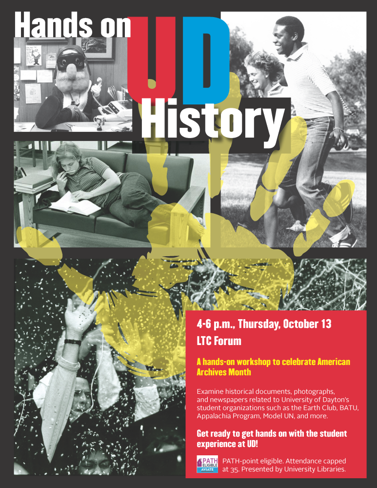 Hands on History flier