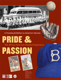 """Pride & Passion: The African American Baseball Experience"" poster"