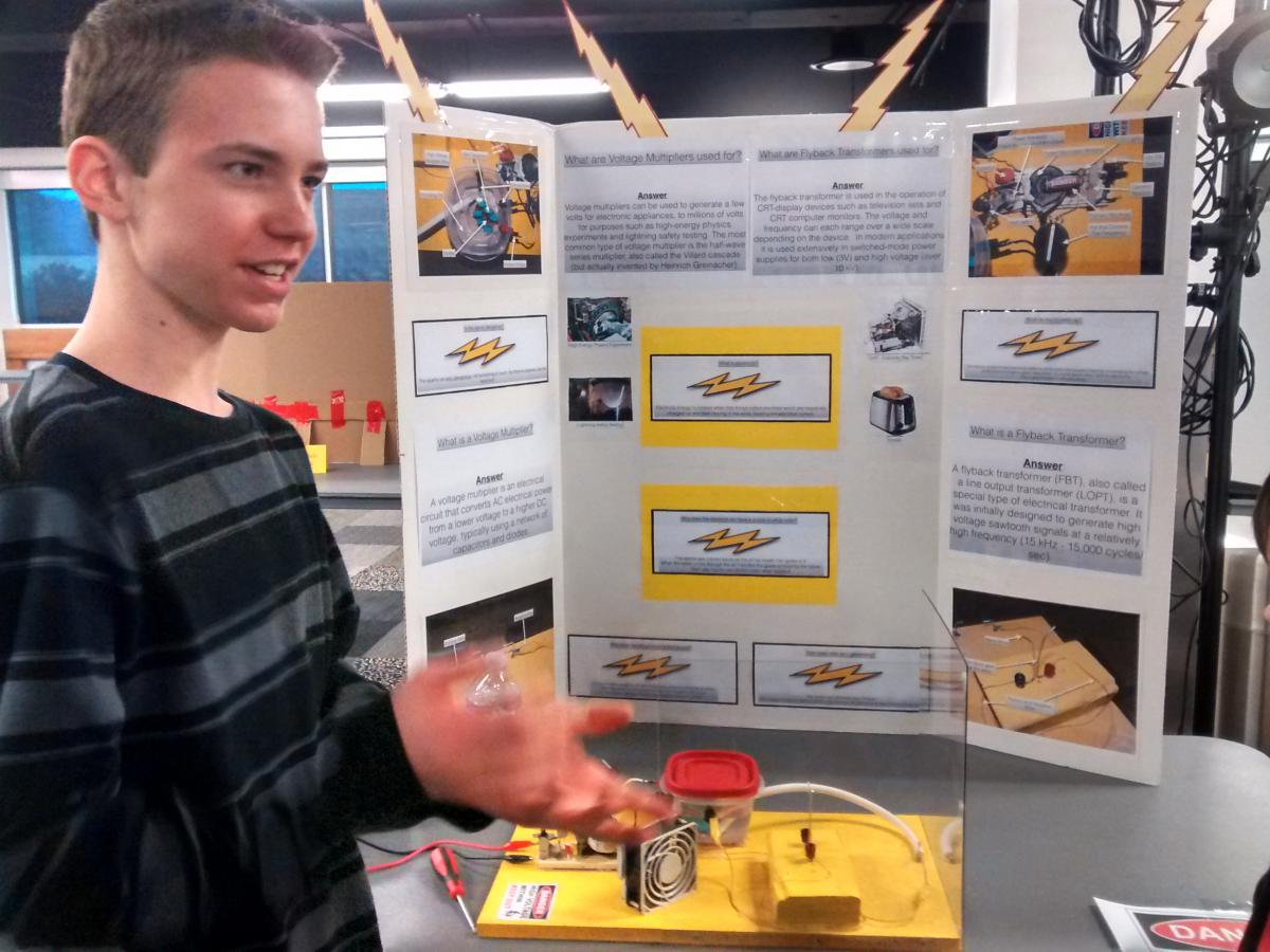 Pikes Peak's most recent annual science fair had more than 30 projects.