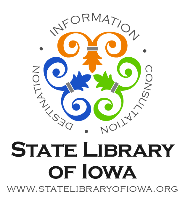 State Library of Iowa logo