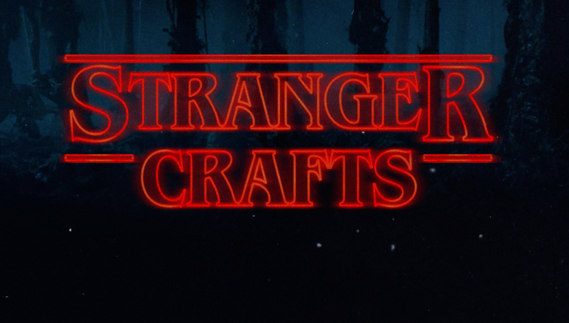 Stranger Crafts logo generated by Make it Stranger.com