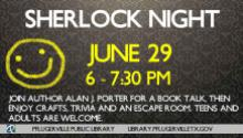 Sherlock Night publicity piece