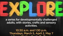 Visit Explore program ad