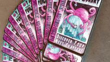 San Diego Public Library's limited edition Comic-Con library cards
