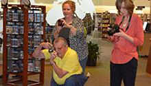Strongsville Branch offers digital photography classes to older adults.