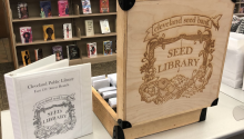 Photograph of the Seed Library box
