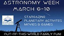 Astronomy Week, March 6-10
