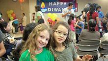 Participants of Diwali celebration