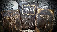 Handmade spell books
