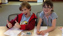 When asked to fill out program evaluations, many kids were enthusiastic about the workshop.