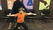 Blogger Jenn Carson shares tips on how to teach yoga in the library.