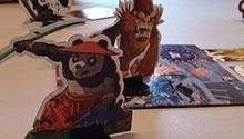 "One of the playable monsters from ""King of Tokyo"" -- Pandakai!"