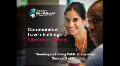 Communities have challenges. Libraries can help.