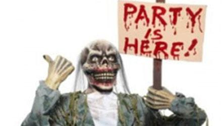 The party is here zombie
