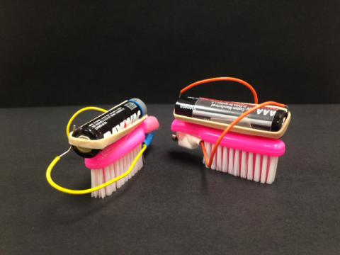 Brushbots