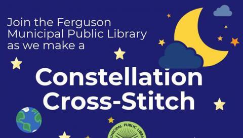 Constellation Cross-Stitch program flier