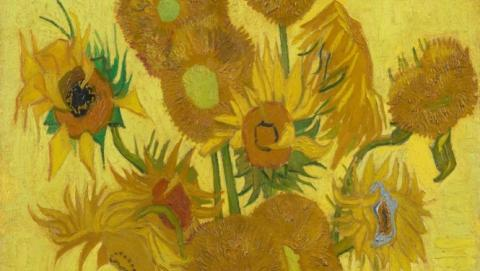Photo of Van Gogh's Sunflowers
