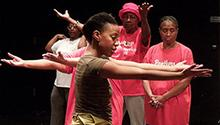 People perform as part of a Creative Aging program. (Lifetime Arts, Inc.)