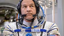 Jeff Williams at the Gagarin Cosmonaut Training Center in March 2015.