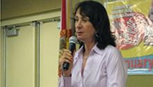 Author Joy Fielding speaks at Palm Beach County Library System's Writers LIVE! series.