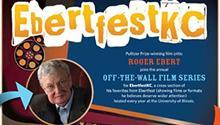 """Poster for the Kansas City Public Library's """"EbertfestKC"""" film festival."""