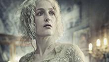 Gillian Anderson as Miss Havisham in Masterpiece's Great Expectations