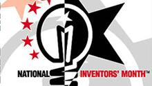 National Inventors' Month poster