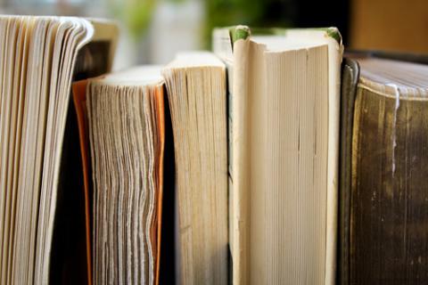 Five books in a row