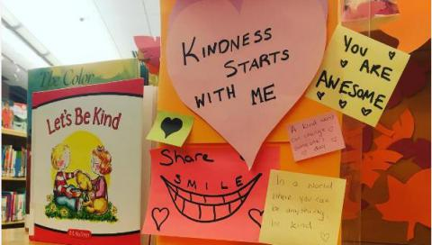Display: Kindness starts with me