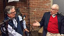 "Paul Austin and Rex Nelson discuss food on their Radio CALS segment ""Chewing the Fat."""