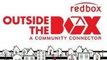 Logo for Outside the Box, offered by Redbox and partners