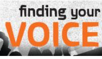 Finding Your Voice logo
