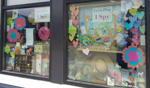 "Photo of ""I Spy"" windows"