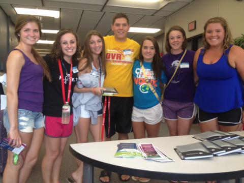 Weeks of Welcome participants at University of Dayton