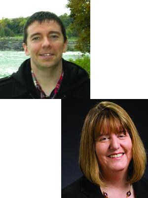 Pictures of Jeff Corrigan and Mary Larson