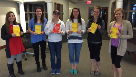 Student participants in the Porch Reads book club