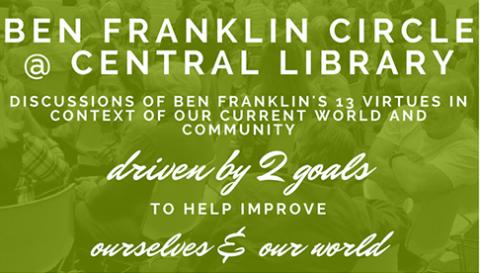 Ben Franklin Circle @ Central Library