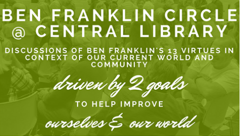 Ben Franklin Circle @ Central Library