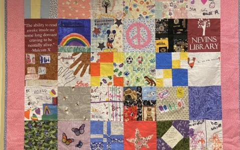 Photograph of one of the final quilts