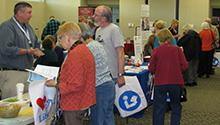 Older adults at the Senior Expo