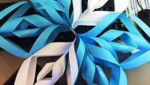 3d paper snowflake